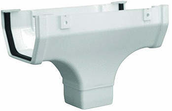 Hrw107 Highflo Drop Outlet White