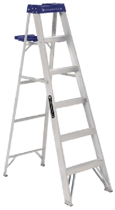 AS2108 8  ALUMINUM STEPLADDER T-I