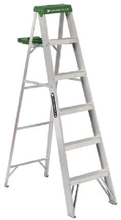 AS4004 4  ALUMINUM STEPLADDER T-II