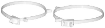 2C234Z ADJ PLAS CLAMP  3-4  2 PACK