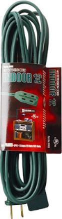 0870 15 Ft  Green 16/2 Spt-22 Cube Tap