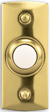 842lp Button Brass - Lighted