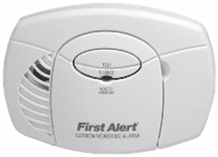 1039718 CO DETECTOR BATTERY POWERED #1