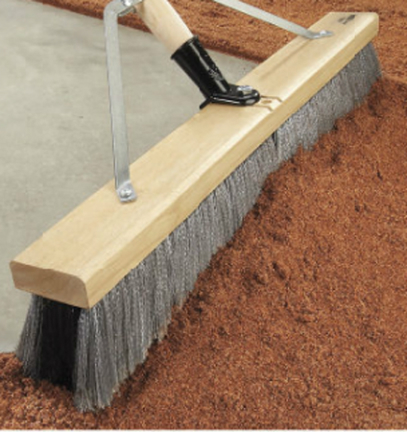 Flo1001 9 Floor Sweep 50 Red W Grit Products The