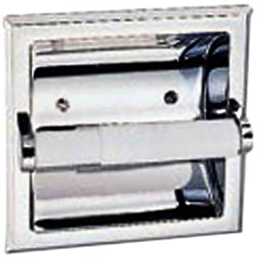 533125 Chrome Recess Toilet Paper Holder Mill