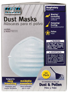 10028560 50 PK DUST POLLEN MASKS