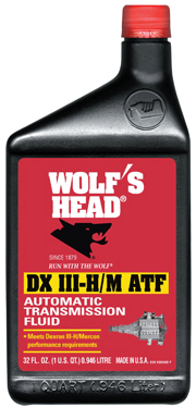 92836 Wolfs Head Oil Dex/m  Qt