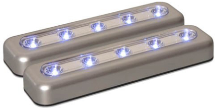 71187CC 2 PACK LED TASK BARS