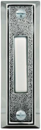 715a-1-a Narrow Silver Push Button