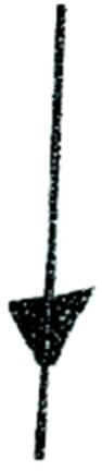 0256-0 POST 3/8X4 REBAR ELEC FENCE