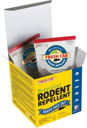 Mfc12p Repellent Fresh Cab Rodent 4 Pk