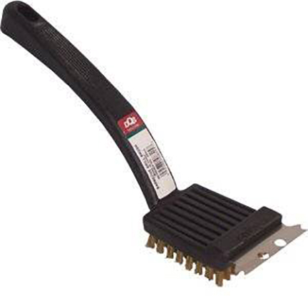 08315(1224) BBQ GRILL BRUSH W/SHORT HANDLE