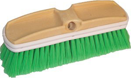 11722 CAR WASH BRUSH 10 IN GREEN POLY