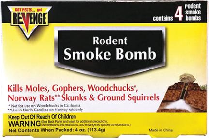 61110 Rodent Smoke Bombs Revenge 4/pk