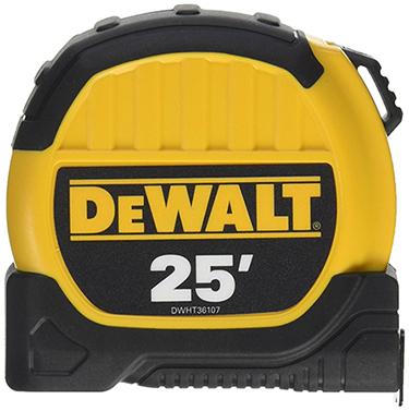 DWHT36107 TAPE MEASURE 25 FT X 1 1/2 IN DEWALT
