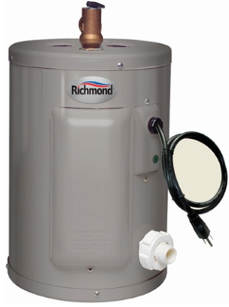 6ep2-1 Water Heater 6 Yr 2 Gal Electric