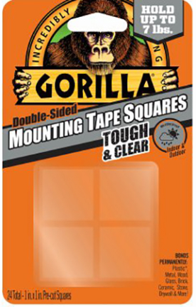 6067202 Tape Squares 24 Ct Mounting Cl