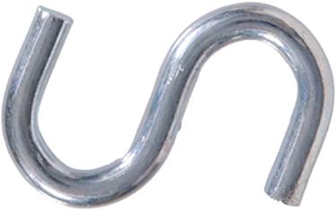 322124 .307x3 Zinc Plated S-hook