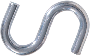 322108 .177x1-1/2 Zinc Plated S-hook