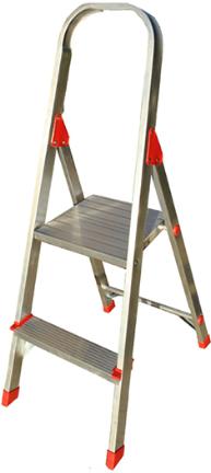 L 2346 02 Ladder 2ft Aluminum Platform Products The