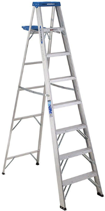 AS4008 LADDER 8FT ALUMINUM STEP
