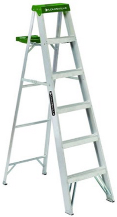 AS4006 6  ALUMINUM STEPLADDER T-II
