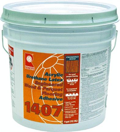 1407-4 Wood Floor Adhesive 4 Gal