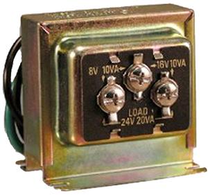 Sl-125c-02 Tri-volt Wire Transformer 8  16 24 V