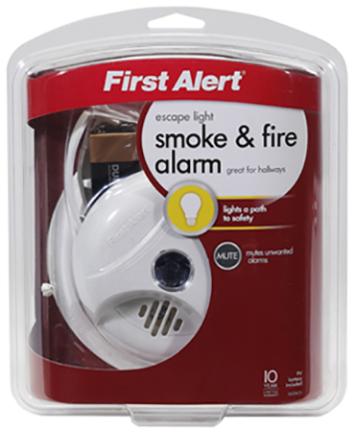 1039800 SMOKE DETECTOR W/ESCAPE LIGHT