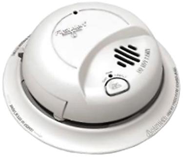 9120B SMOKE ALARM-AC W/BATTERY BACKUP