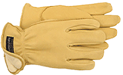 7185L GLOVES LINED GRAIN DEERSKIN THINSULAT