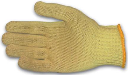 07-k300l Uncoated Kevlar Glove Lg