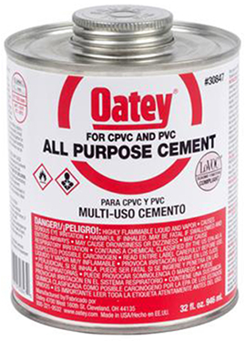 30818 4 OZ.ALL PURPOSE CEMENT-CLEAR