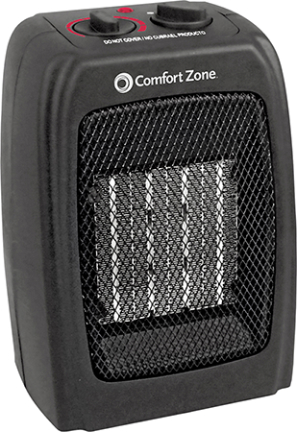 CZ442 HEATER CERAMIC 750/1500 WATTS