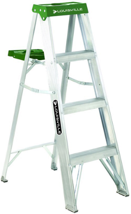 AS4004 LADDER 4FT  ALUMINUM STEP