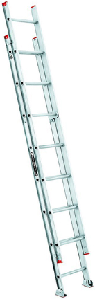 L 2321 16 Ladder 16ft Aluminum Extension Products The