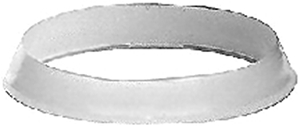 762 WASHER 1-1/4 WHITE POLY SLIP JOINT