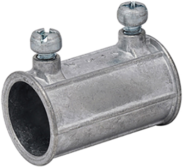 MES-760 THINWALL EMT COUPLING 1/2 IN STEEL