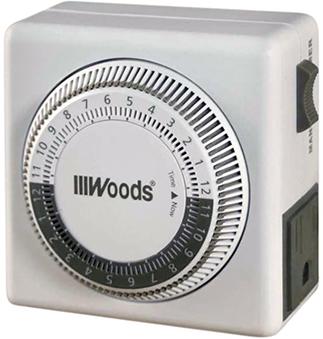 50001WD TIMER INDOOR 24 HR MECHANICAL 3-C