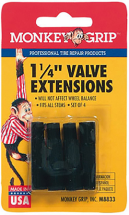 M78833-m/m8833 Valve Extension 1 1/4  4/cd