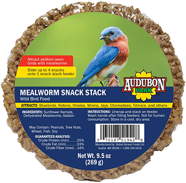 13139 SNACK STACK MEALWORM AUDOBON