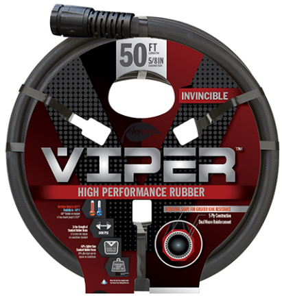 CELVP58050 VIPER HOSE 5/8 IN X 50 FT GRAY