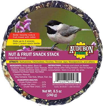13142 SNACK STACK NUT/FRUIT AUDUBON