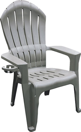 8390-13-3900 Chair Adirondack Gray Big Easy