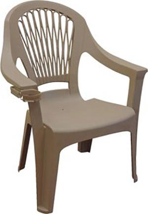 8260-60-3700 Chair Earth Brn High Back Big Easy