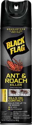HG11031 BLACK FLAG ANT N ROACH UNSCENT 15OZ