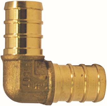 APXE1240JR PEX ELBOW 1/2 IN 40 PACK JAR