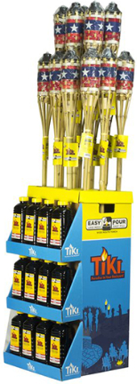 1114098 DISPLAY AMERICAN TORCH 50 OZ CITRONELLA