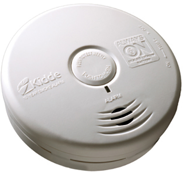 21010164 SMOKE ALARM 10 YR WHITE photoelectric