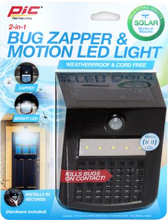 SOLAR-SL ZAPPER MOTION LIGHT SOLAR POWERED